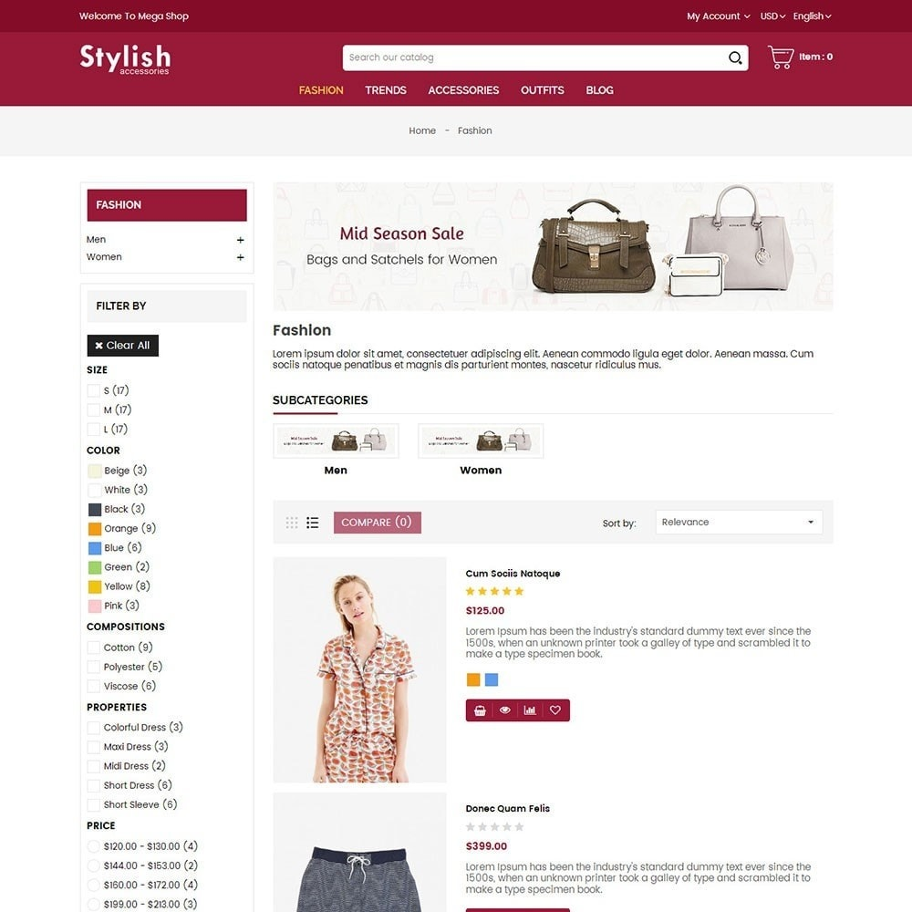 theme - Mode & Chaussures - Stylish Fashion Store - 4