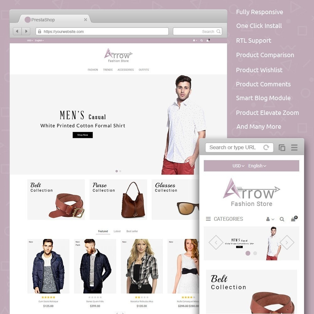 theme - Mode & Schoenen - Arrow Fashion Store - 1