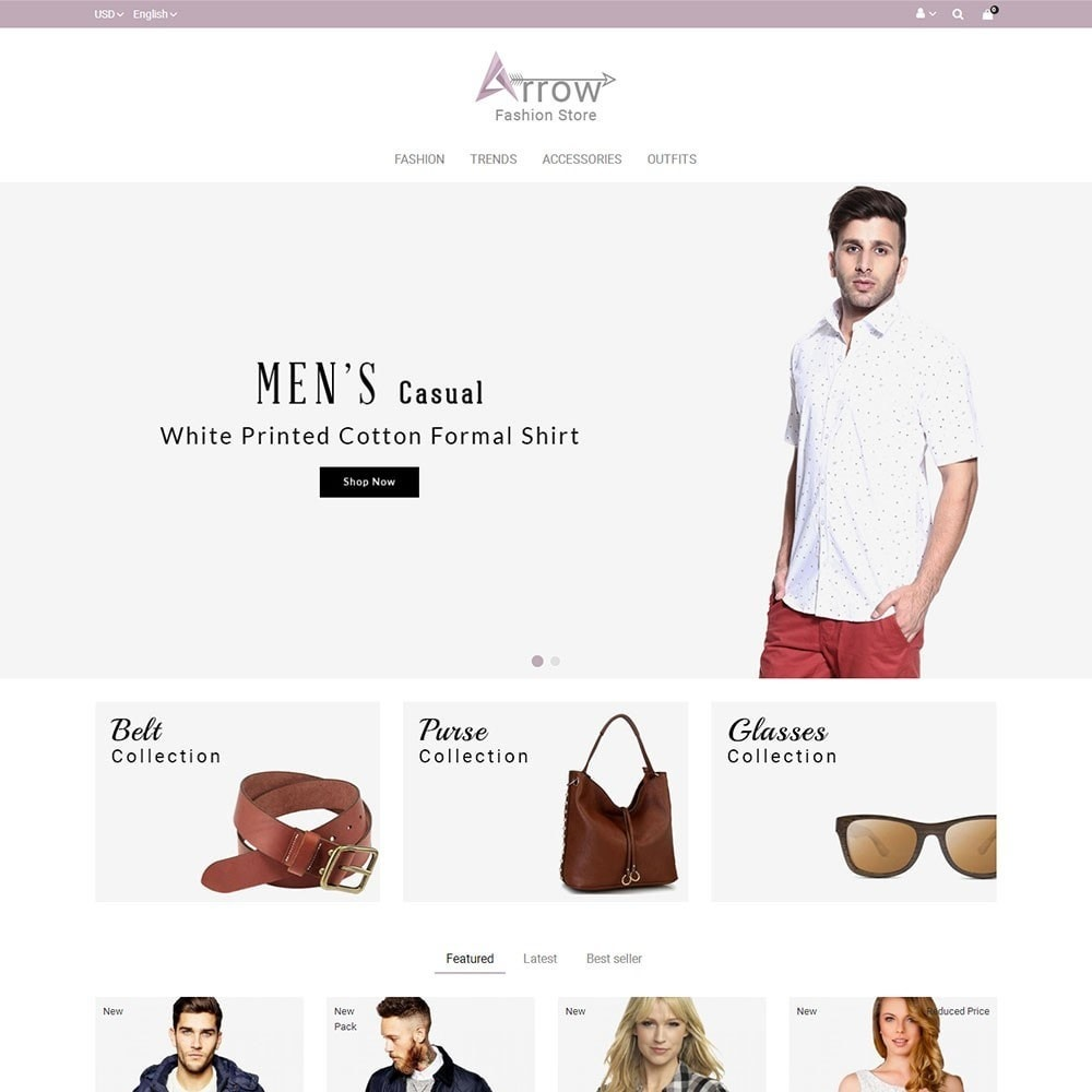 theme - Mode & Schoenen - Arrow Fashion Store - 2
