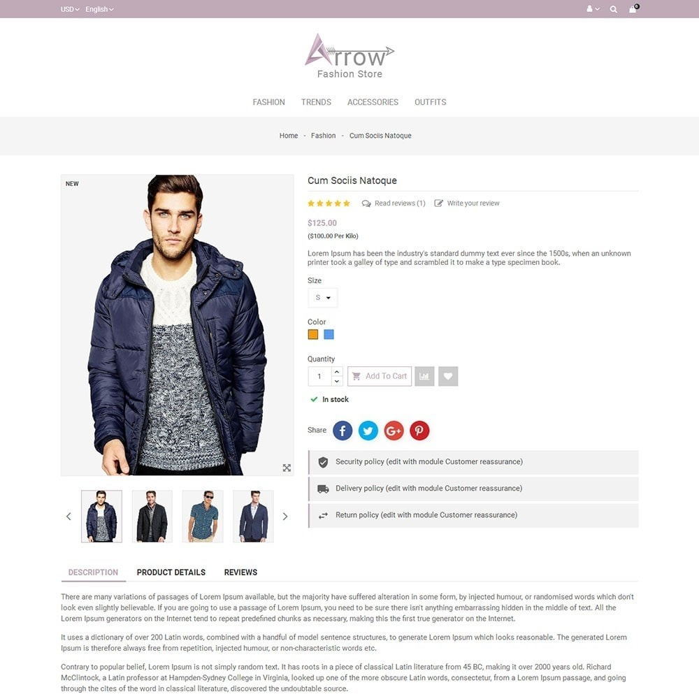 theme - Mode & Schoenen - Arrow Fashion Store - 5