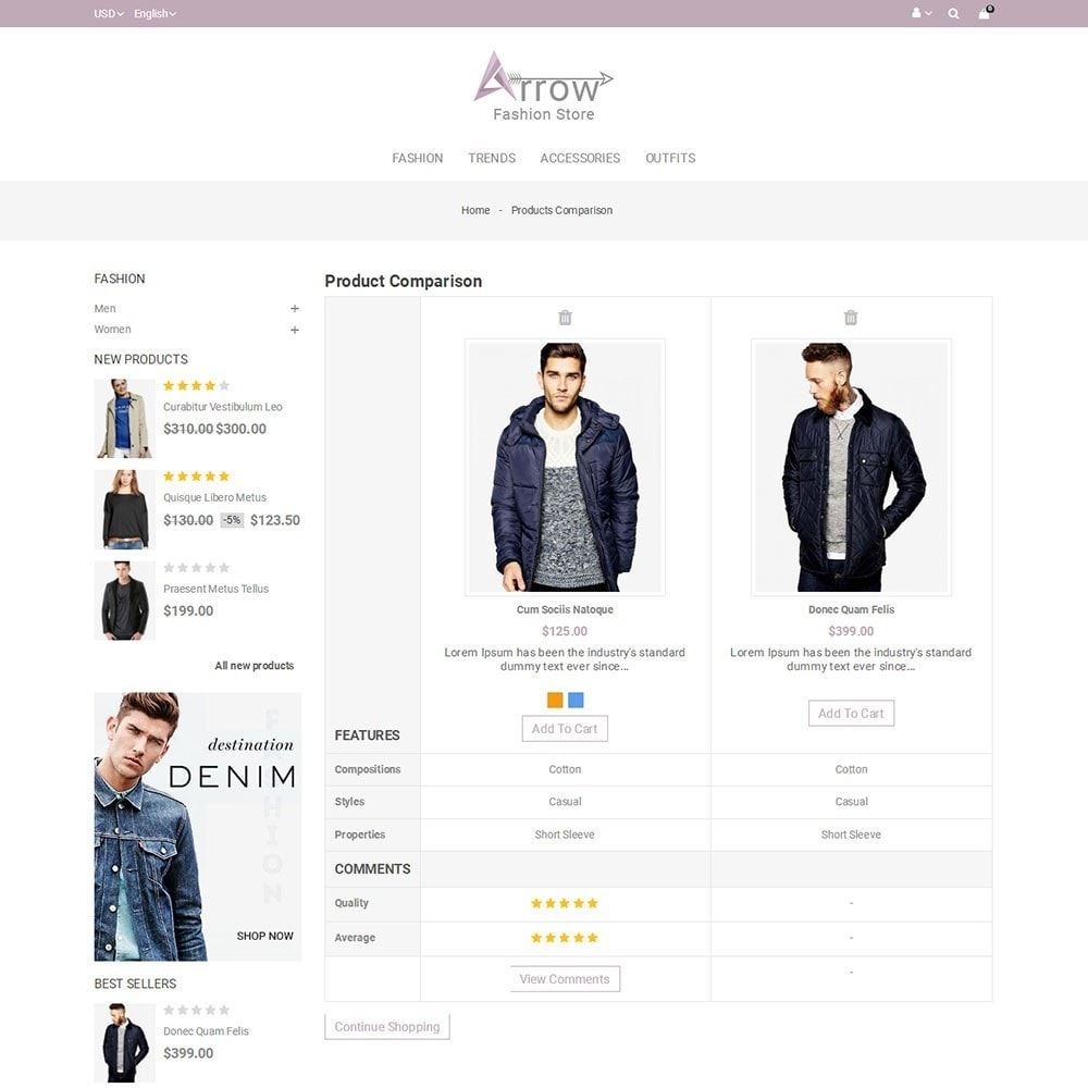 theme - Mode & Schoenen - Arrow Fashion Store - 7