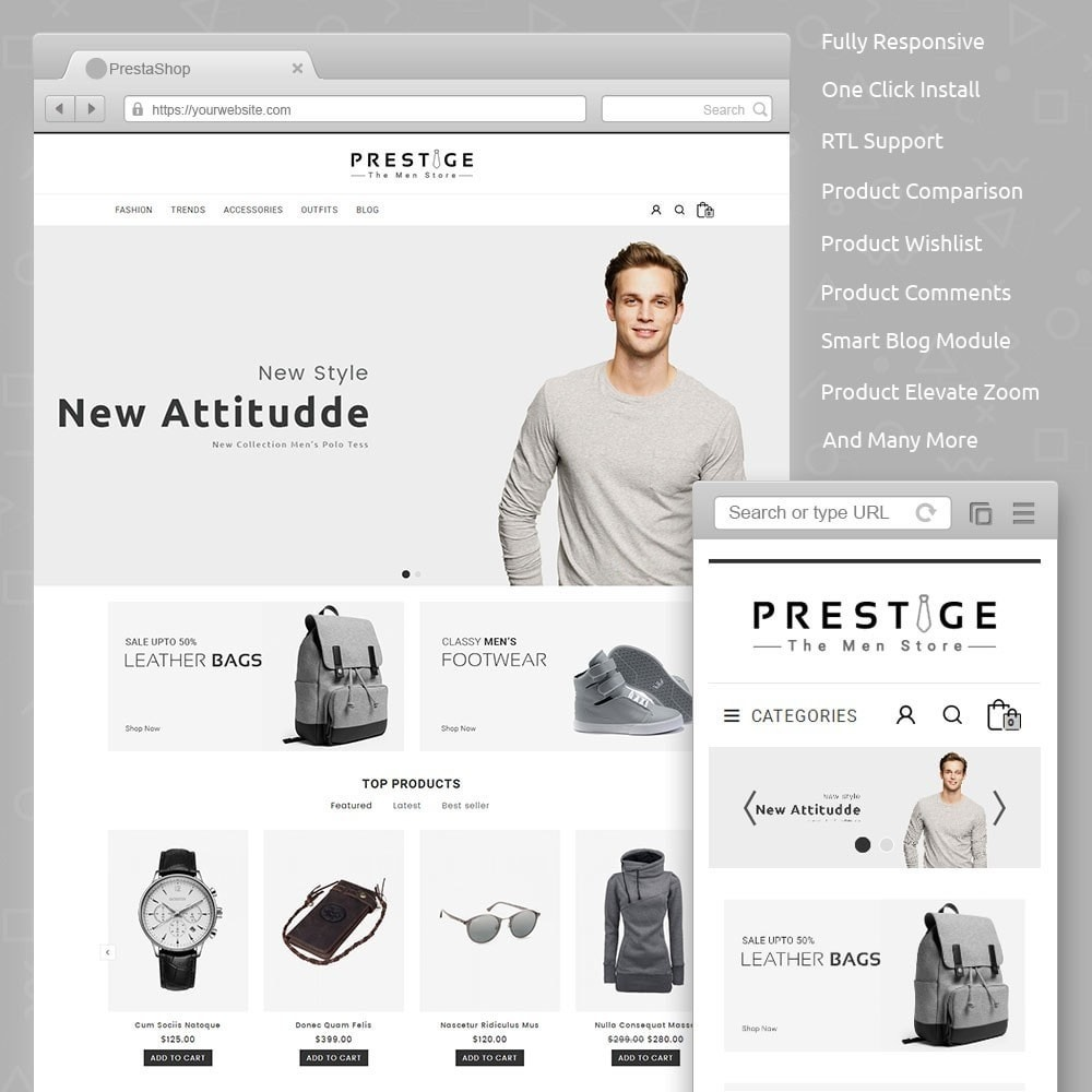 theme - Mode & Schuhe - Prestige Fashion Store - 1