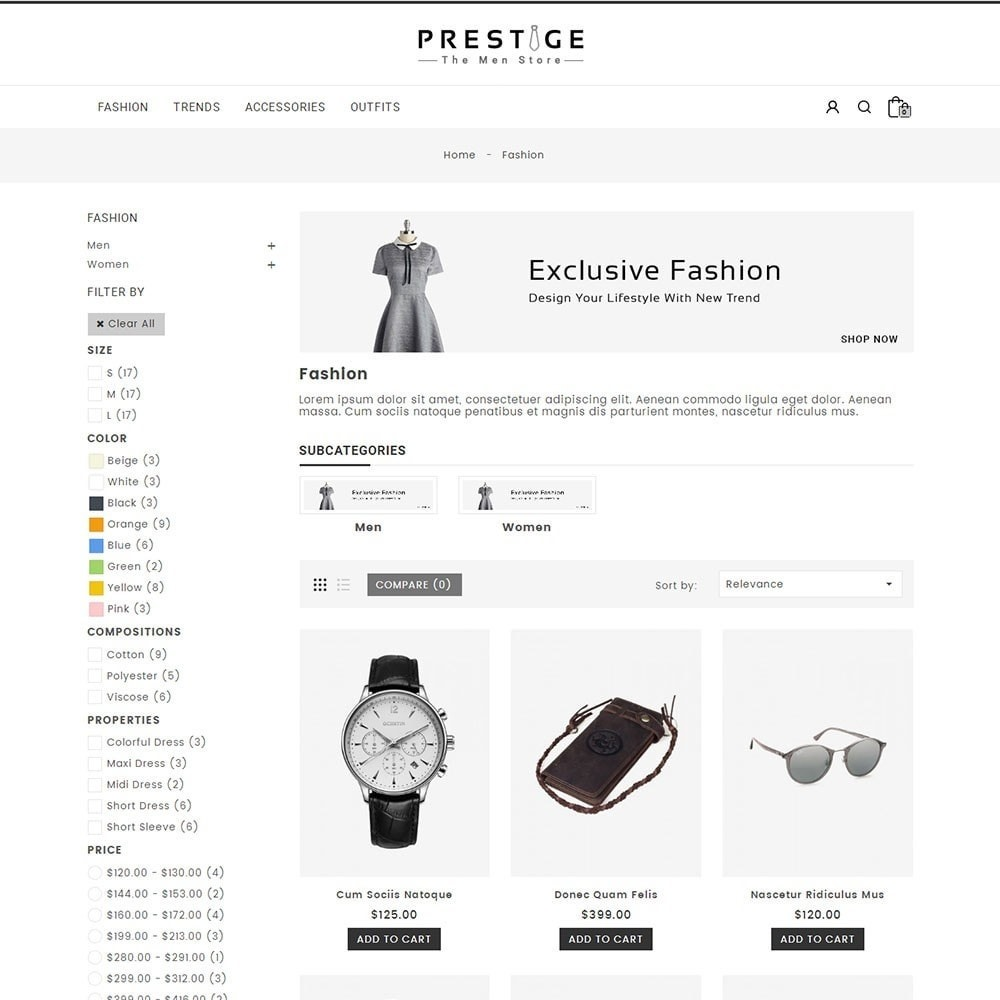 theme - Mode & Schuhe - Prestige Fashion Store - 3