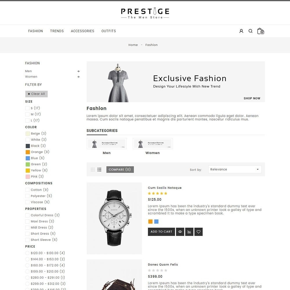 theme - Mode & Schuhe - Prestige Fashion Store - 4