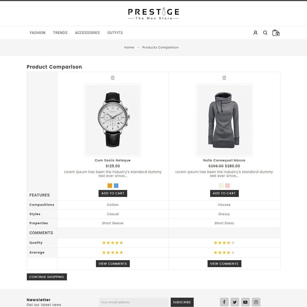 theme - Mode & Schuhe - Prestige Fashion Store - 7