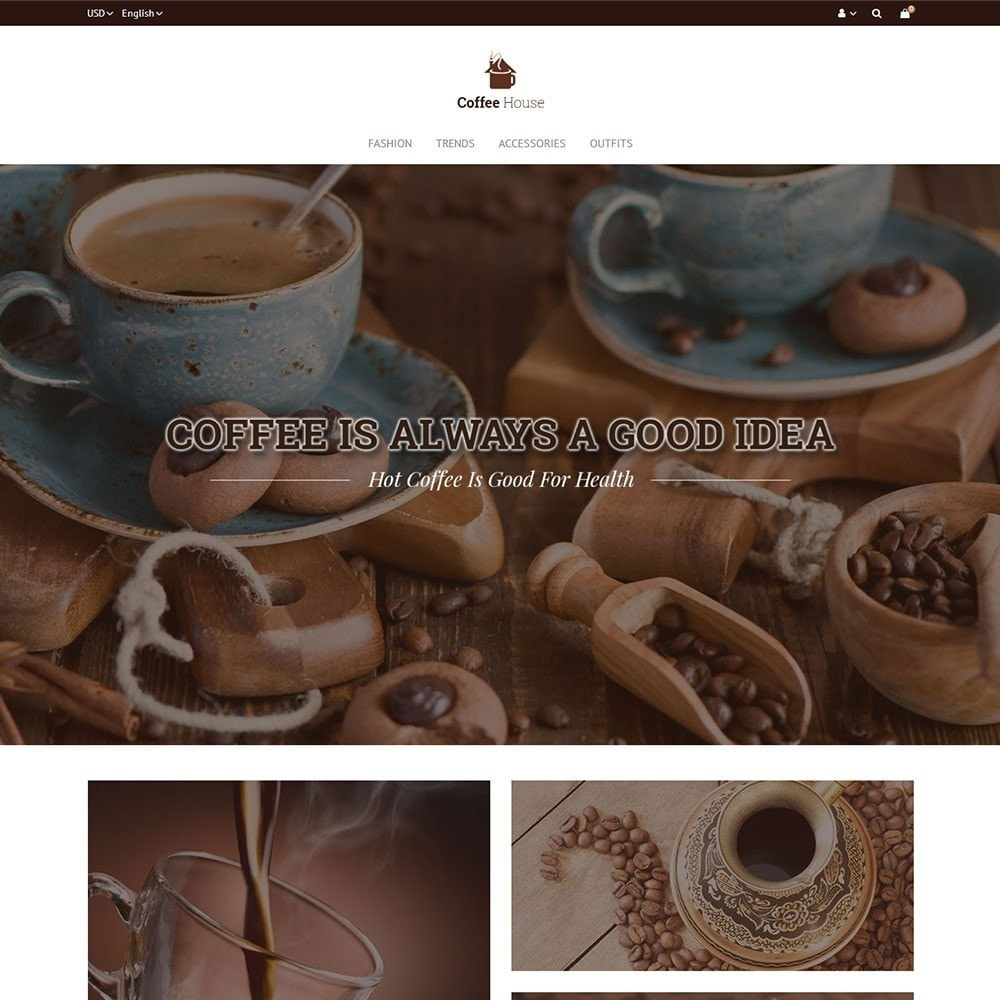 theme - Food & Restaurant - Coffee House Store - 2