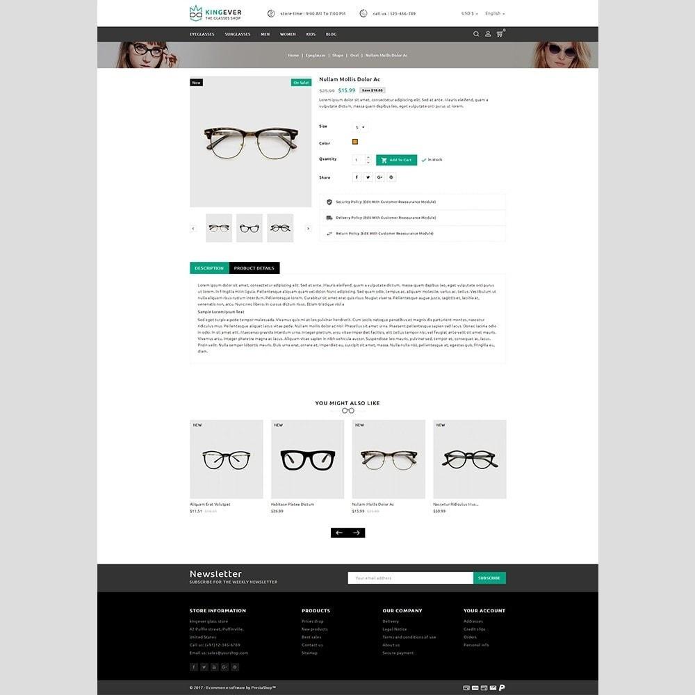 theme - Desporto, Actividades & Viagens - Kingever glasses store - 4