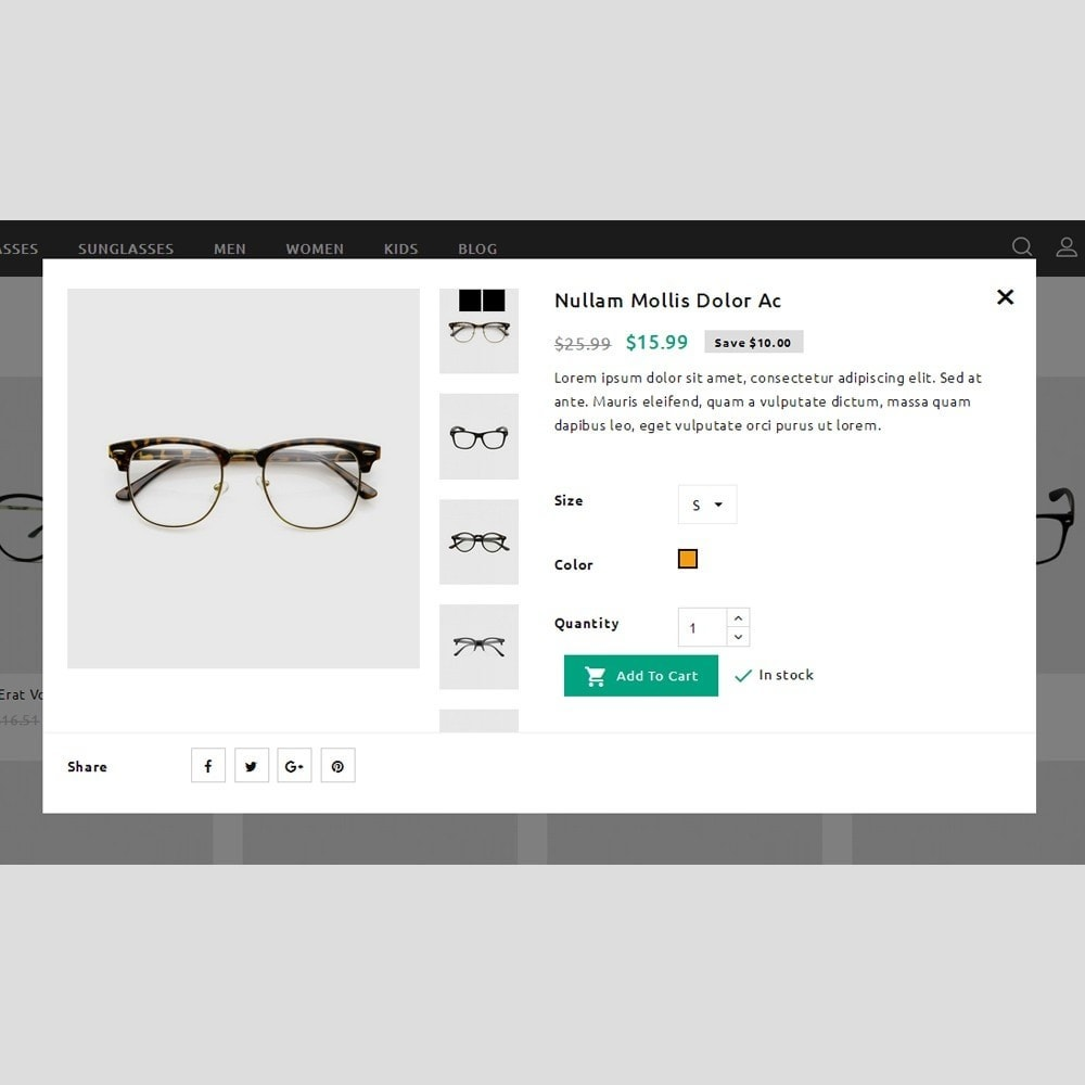 theme - Спорт и Путешествия - Kingever glasses store - 8