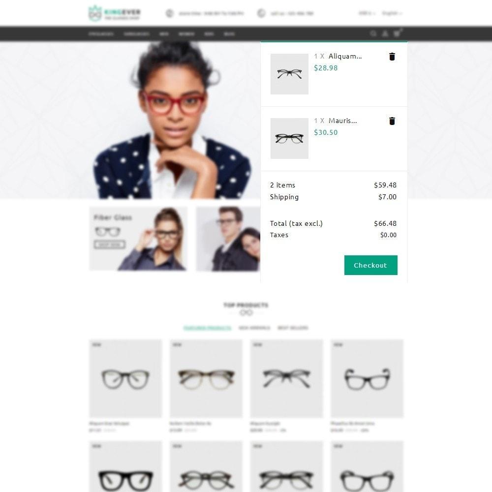 theme - Desporto, Actividades & Viagens - Kingever glasses store - 9