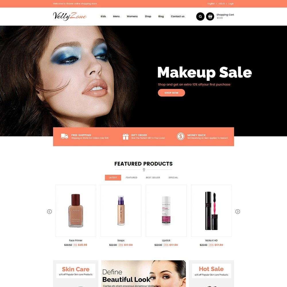 theme - Salute & Bellezza - Vellyzone - Cosmetics  Store - 2