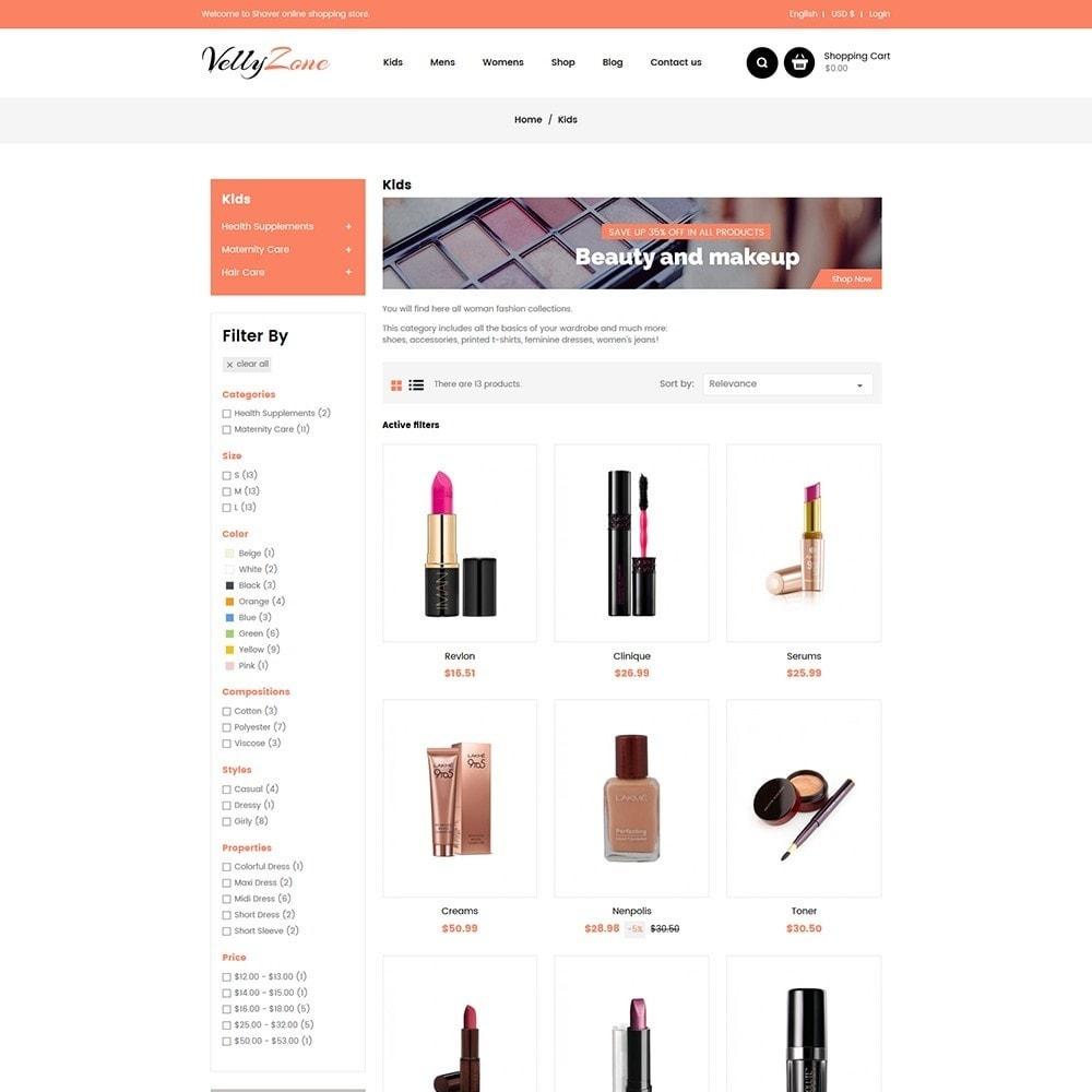 theme - Salute & Bellezza - Vellyzone - Cosmetics  Store - 3
