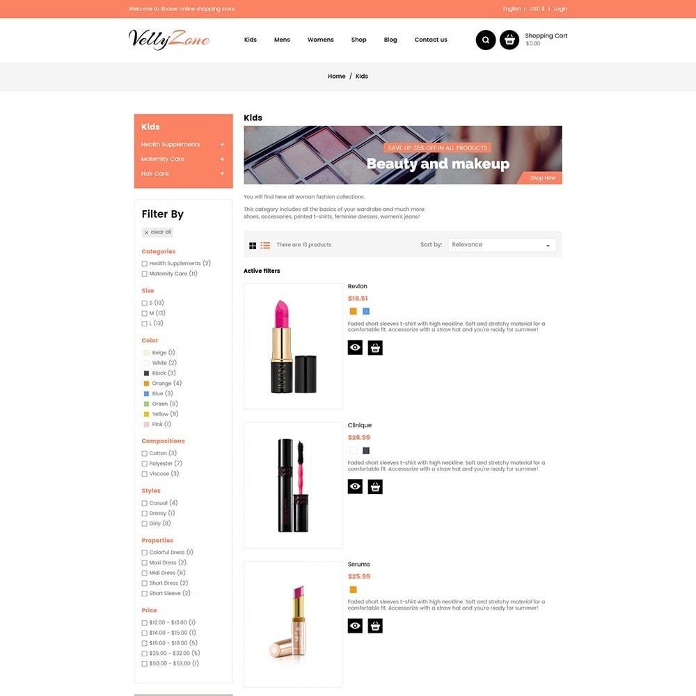 theme - Salute & Bellezza - Vellyzone - Cosmetics  Store - 4