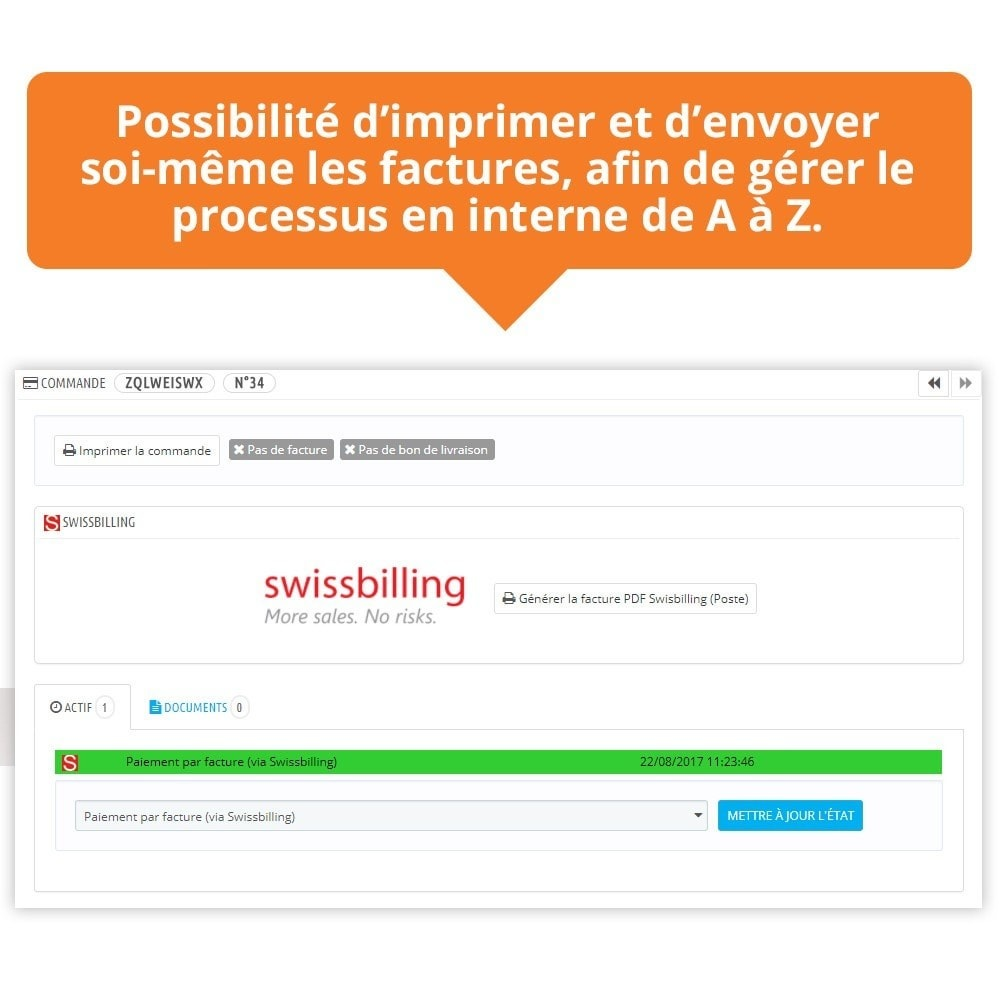 module - Betaling per Factuur - Swissbilling - Payment by invoice - 8
