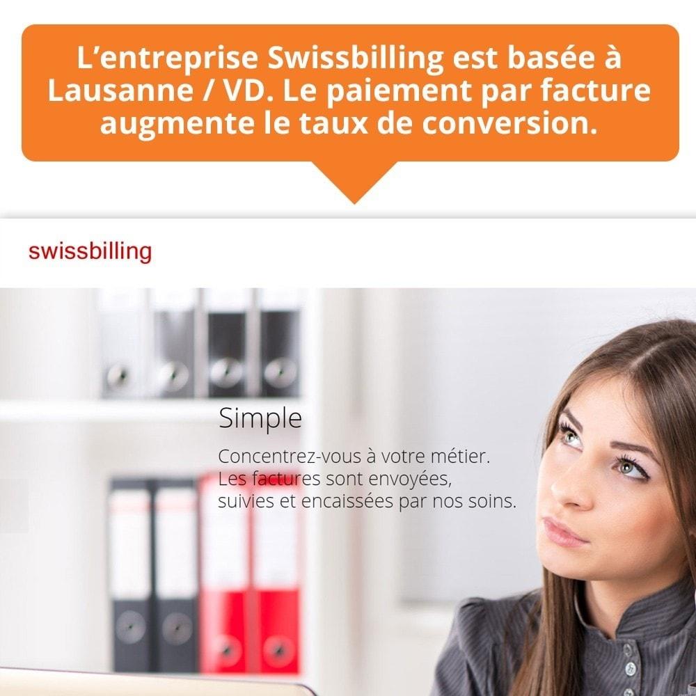module - Paiement par Facture - Swissbilling - Paiement par facture - 10