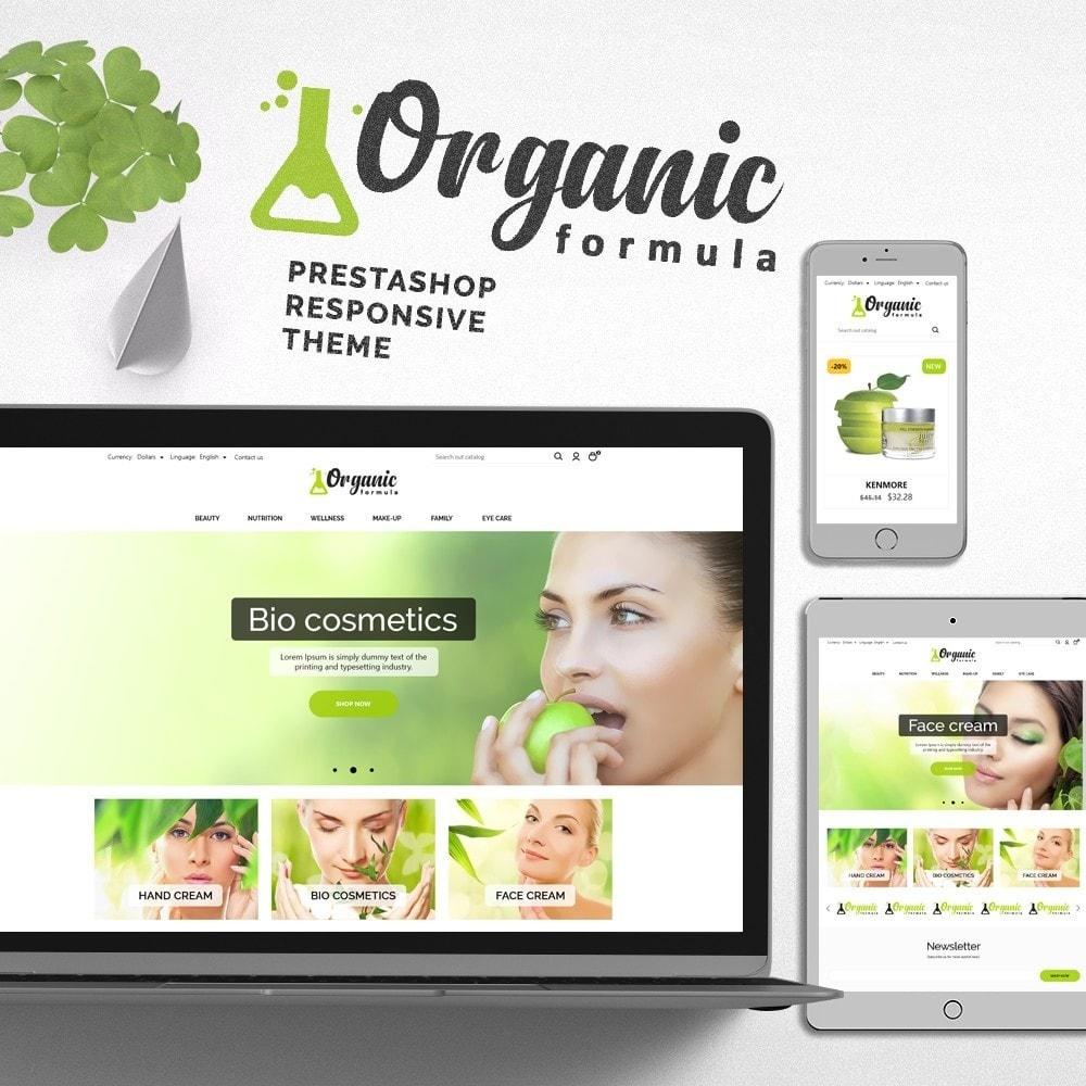 theme - Health & Beauty - OrganicFormula Cosmetics - 1