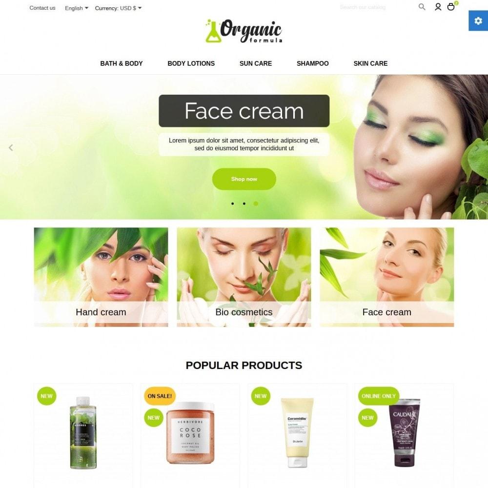 theme - Salud y Belleza - OrganicFormula Cosmetics - 2