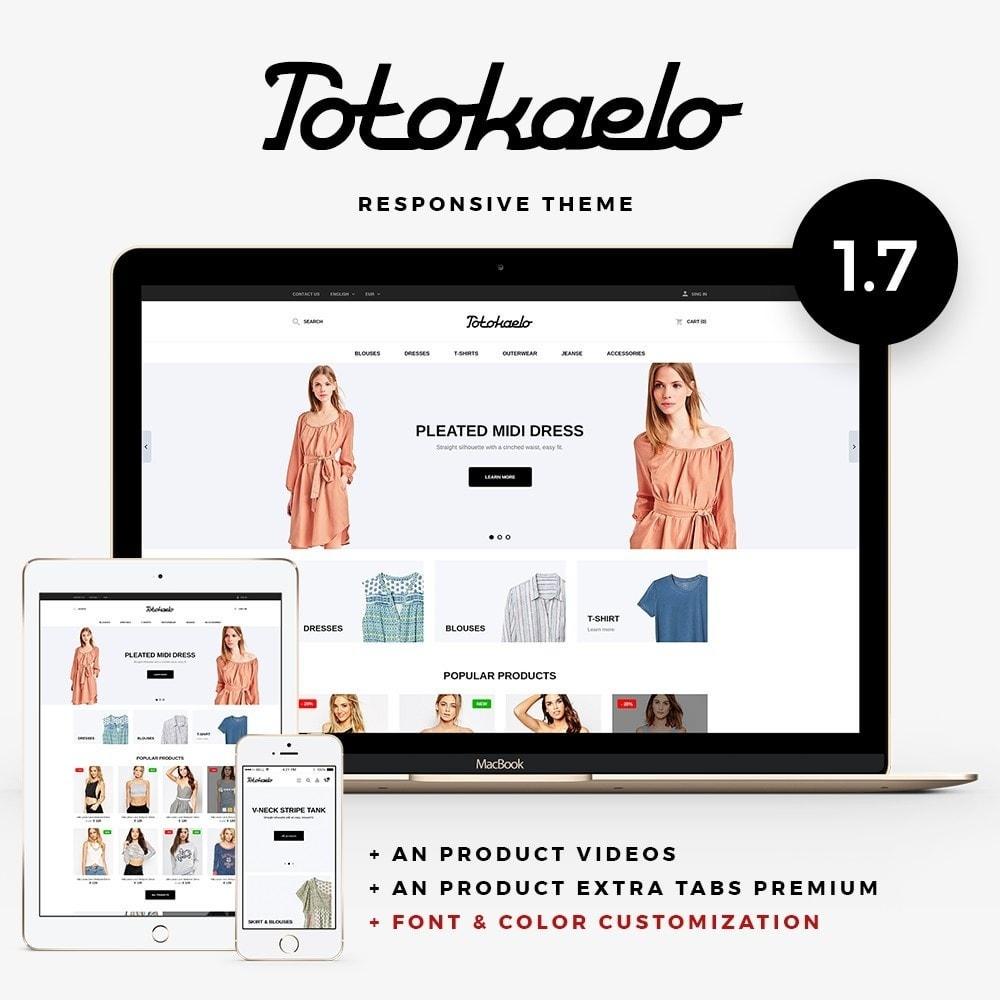 theme - Fashion & Shoes - Totokaelo Fashion Store - 1