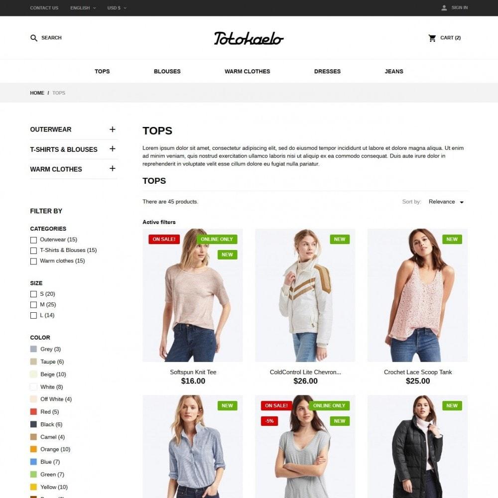 theme - Fashion & Shoes - Totokaelo Fashion Store - 5