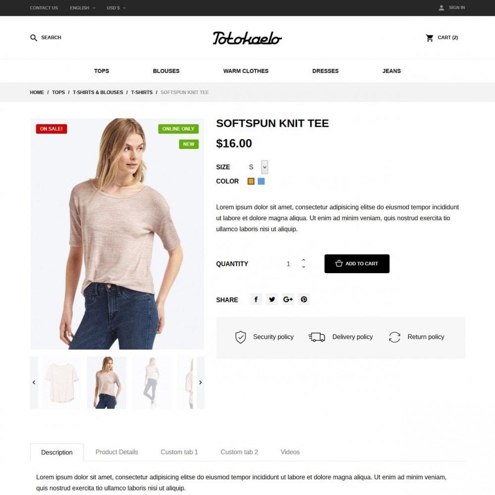 theme - Fashion & Shoes - Totokaelo Fashion Store - 6