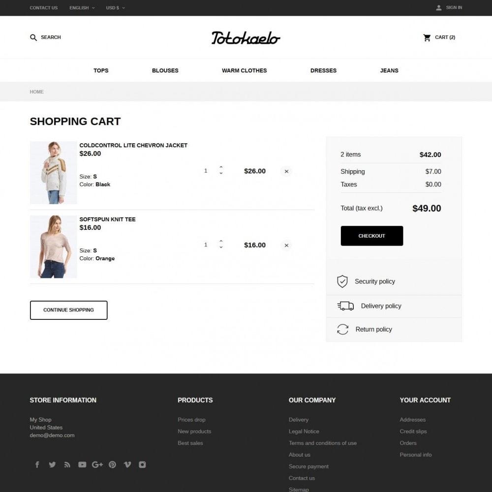 theme - Fashion & Shoes - Totokaelo Fashion Store - 7