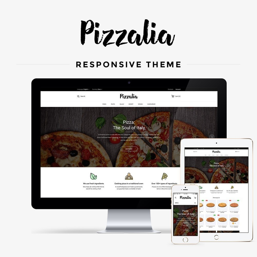 theme - Food & Restaurant - Pizzalia - 1
