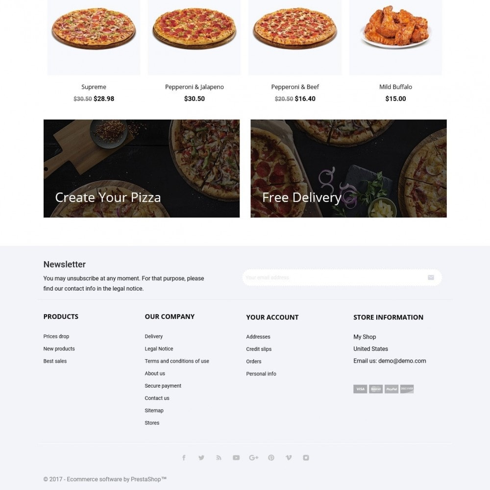 theme - Food & Restaurant - Pizzalia - 4