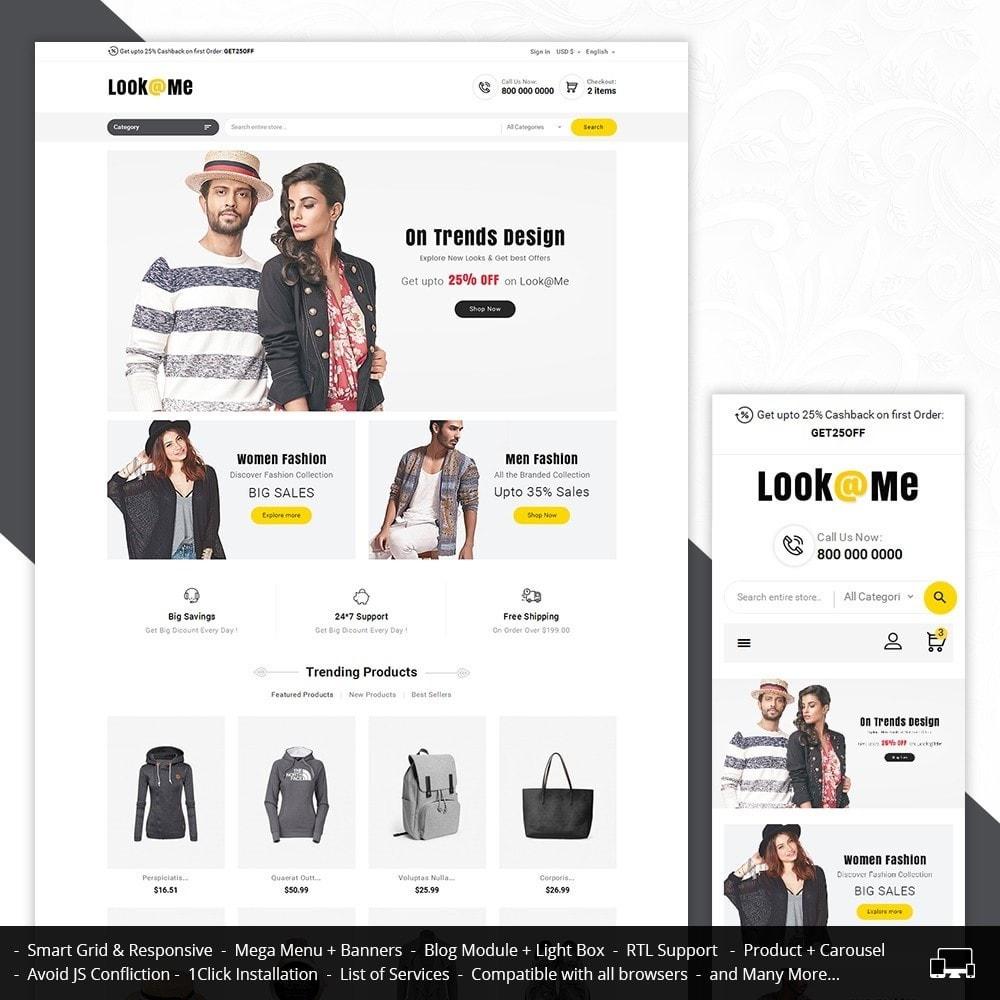 theme - Moda & Calçados - Look me Fashion - 1