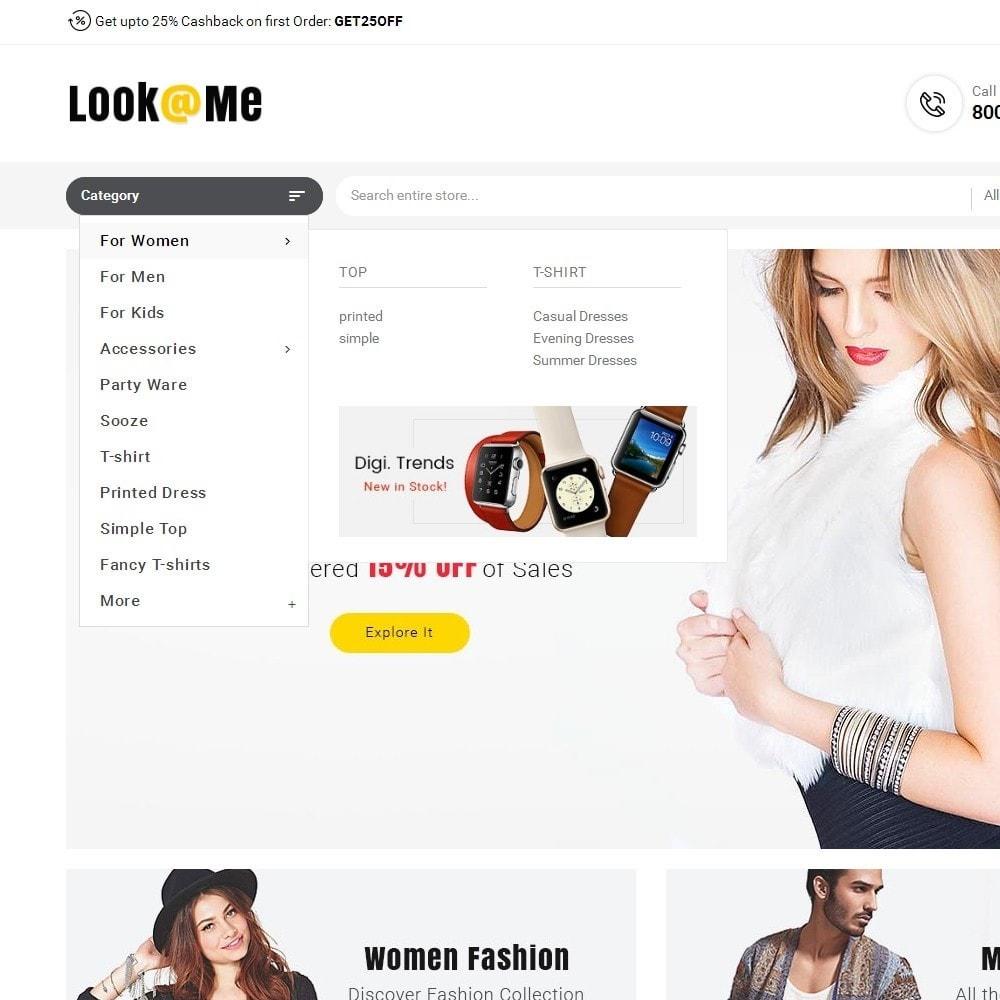 theme - Moda & Calçados - Look me Fashion - 9