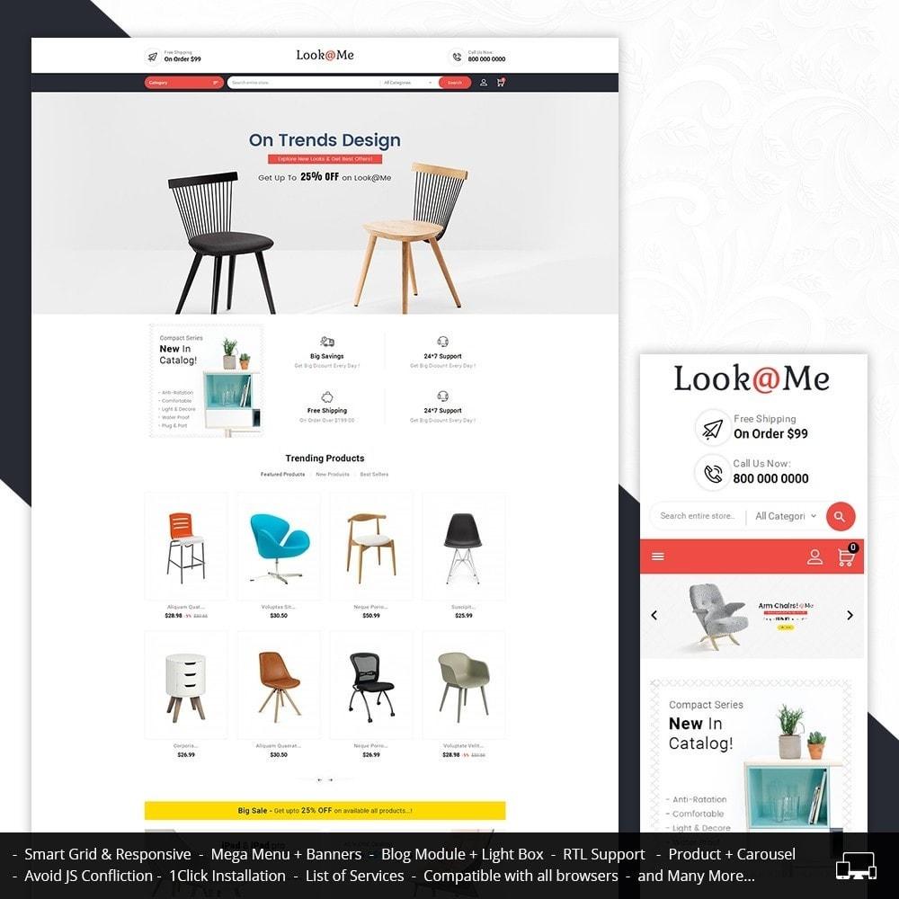 theme - Casa & Jardins - Look me Furniture Crafts - 1
