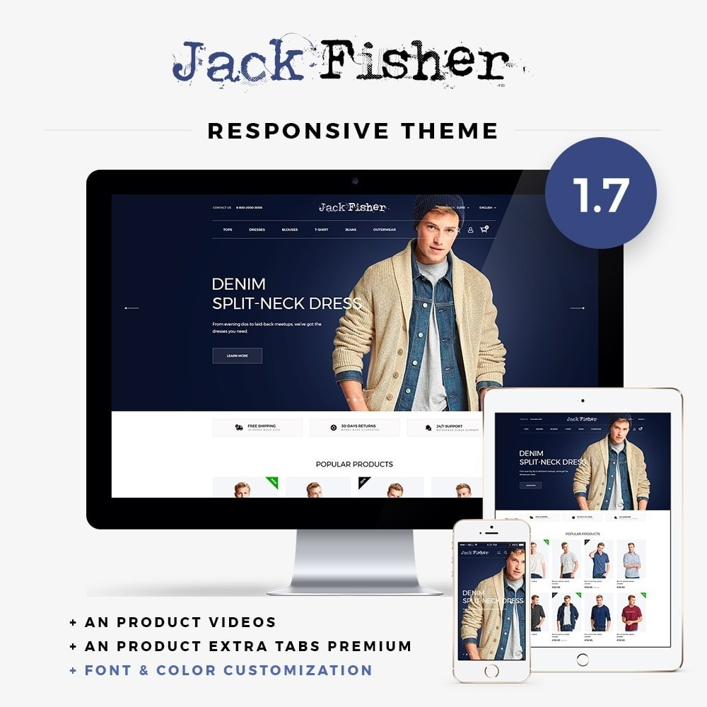 theme - Moda y Calzado - Jack Fisher Men's Wear - 1
