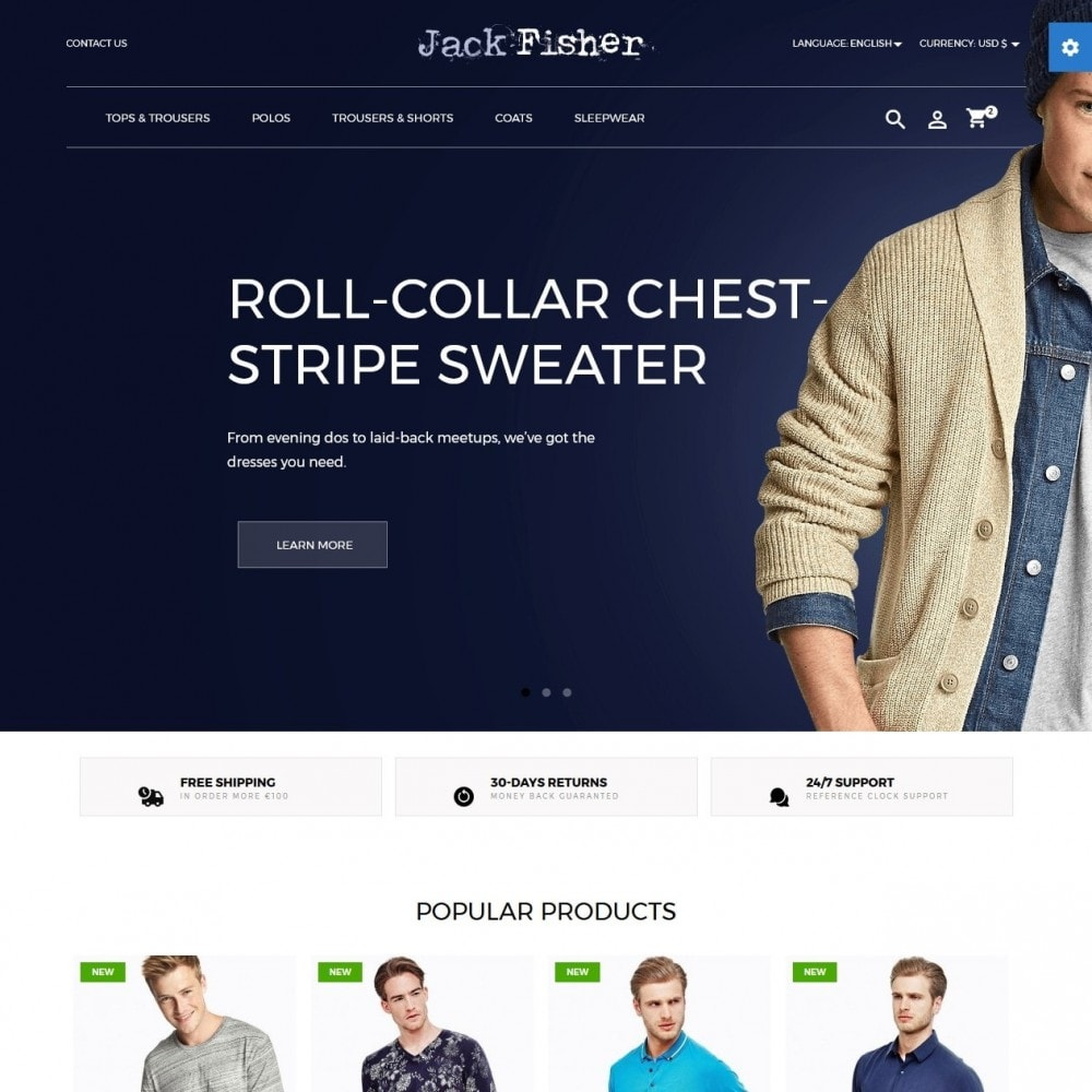theme - Moda y Calzado - Jack Fisher Men's Wear - 2