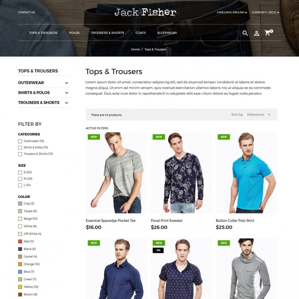 theme - Moda y Calzado - Jack Fisher Men's Wear - 5