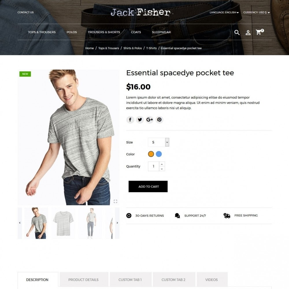 theme - Moda y Calzado - Jack Fisher Men's Wear - 6