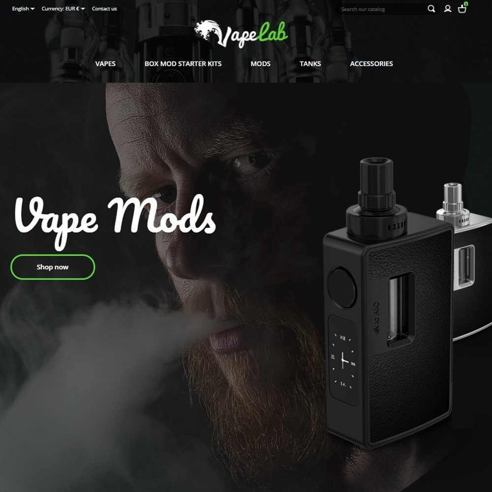 theme - Elektronika & High Tech - VapeLab - 2