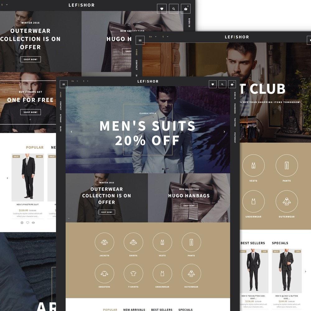 theme - Mode & Chaussures - Lefishor - Vêtements & Accessoires pour hommes - 2