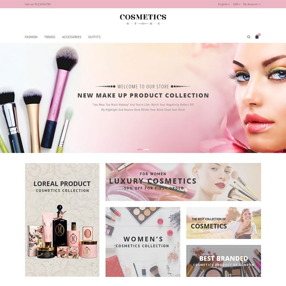 theme - Salute & Bellezza - Cosmetics Store - 2