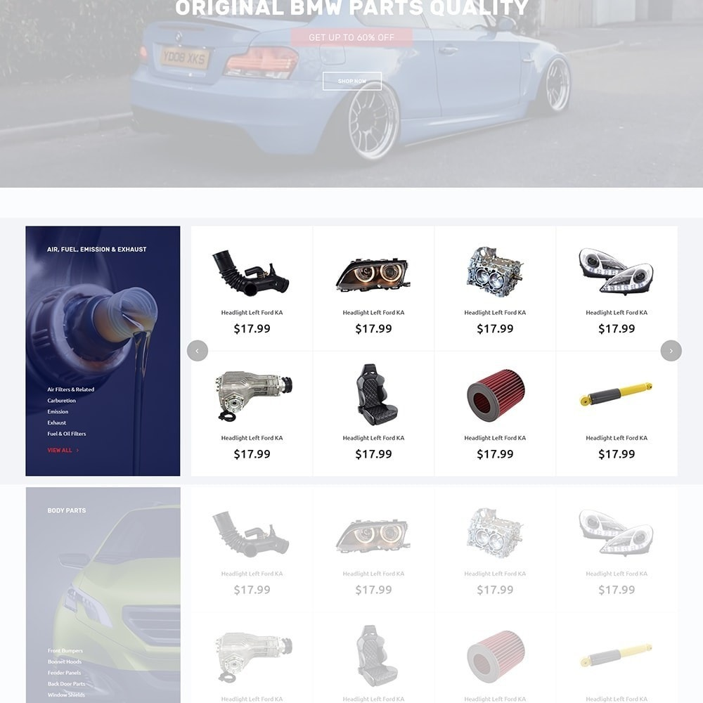 theme - Automotive & Cars - Autotune - Responsive PrestaShop Theme - 5