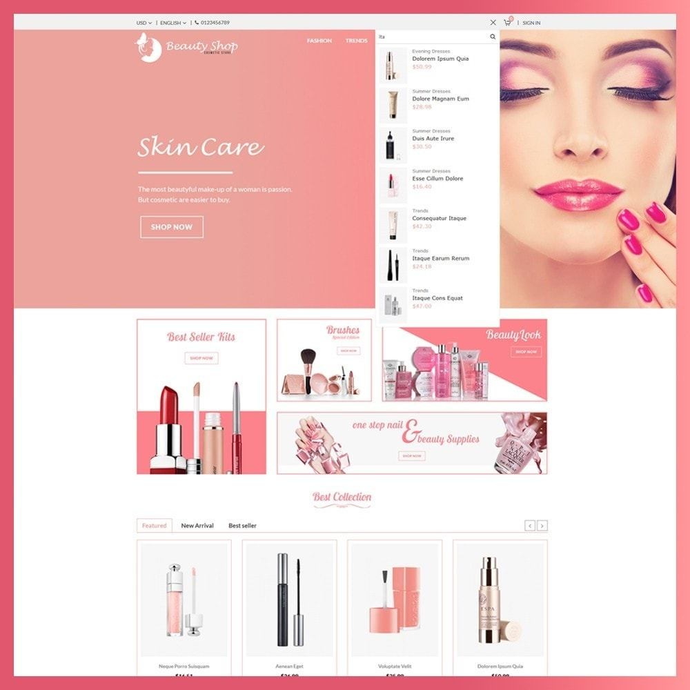theme - Salute & Bellezza - Beauty Cosmetic store - 5