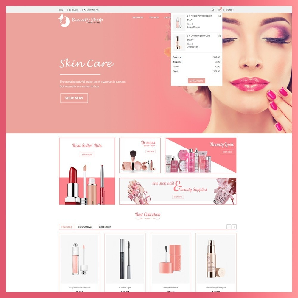 theme - Salute & Bellezza - Beauty Cosmetic store - 6