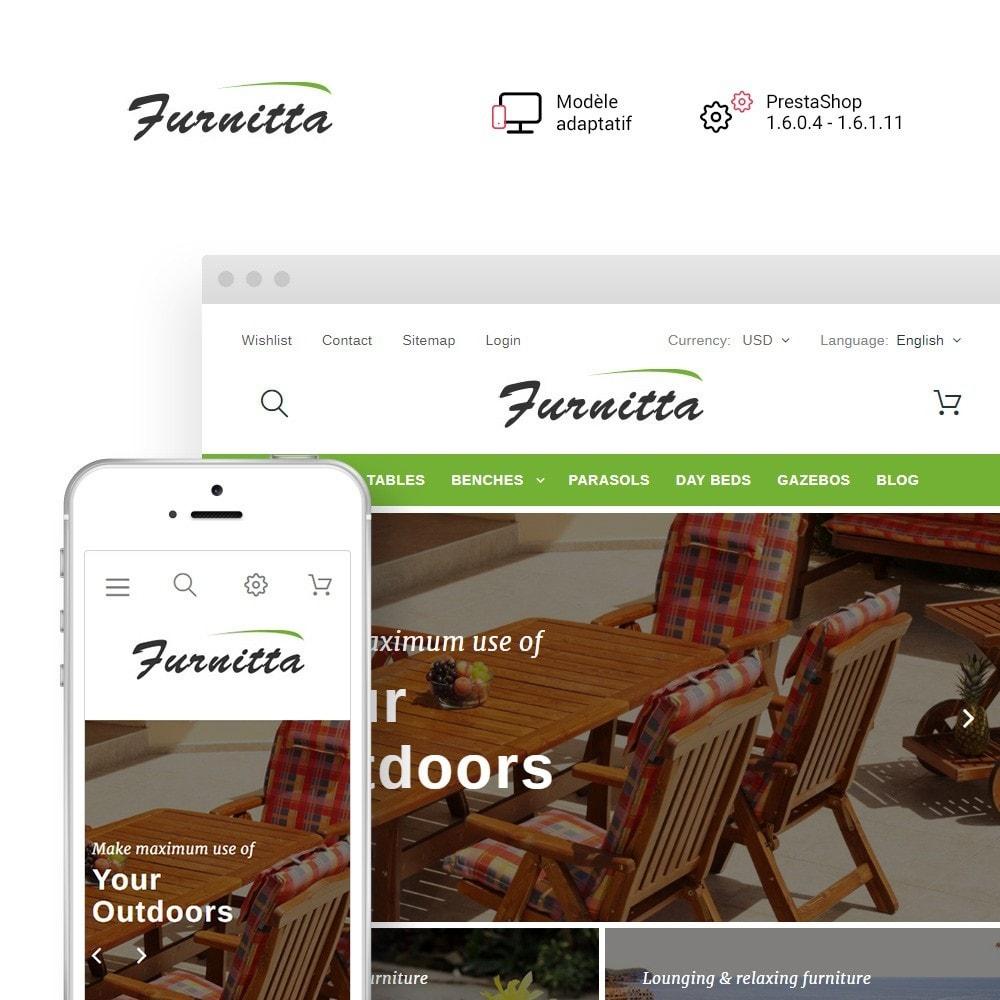 theme - Maison & Jardin - Furnitta - Mobilier d'extérieur thème PrestaShop - 1