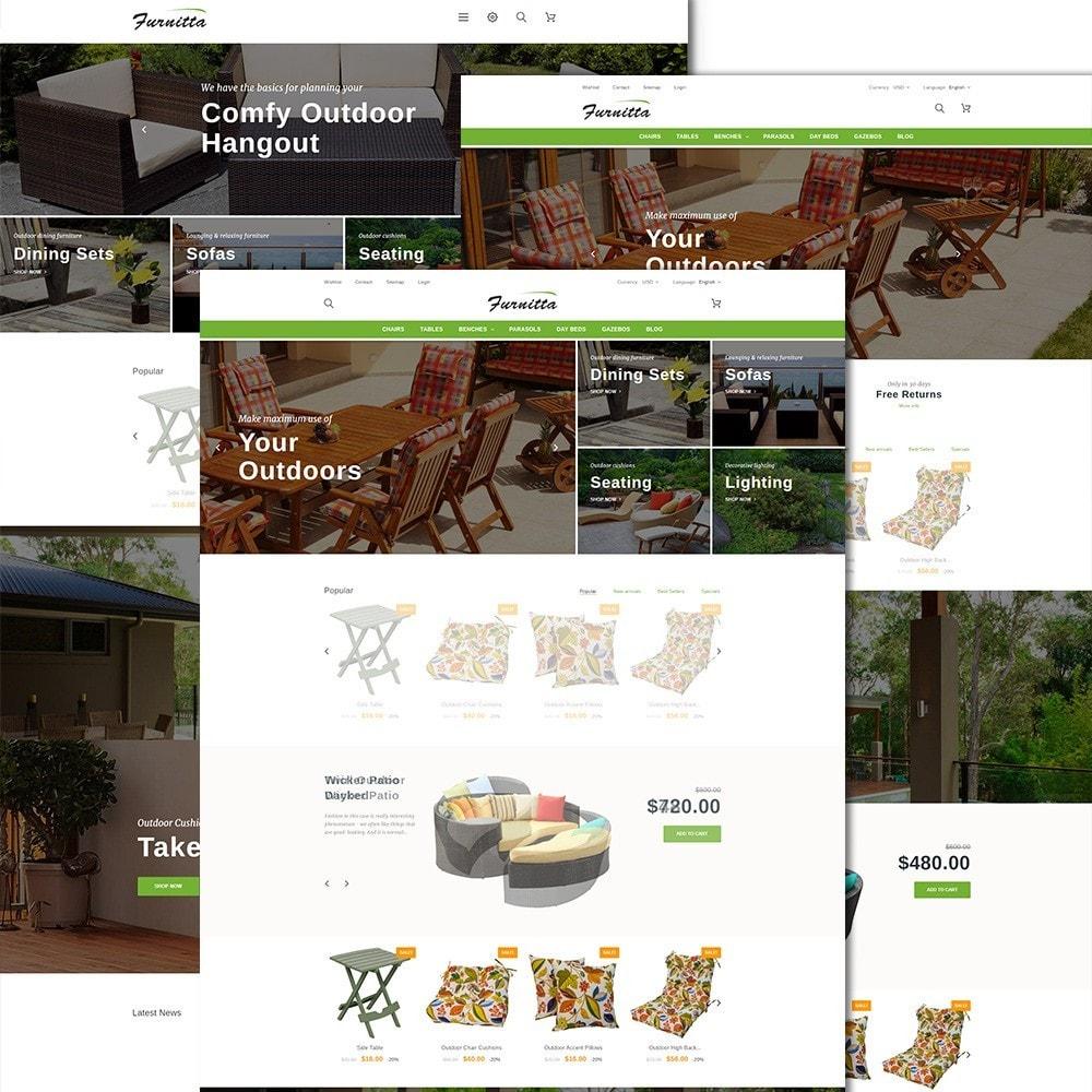 theme - Hogar y Jardín - Tema de PrestaShop para Sitio de Muebles - 2