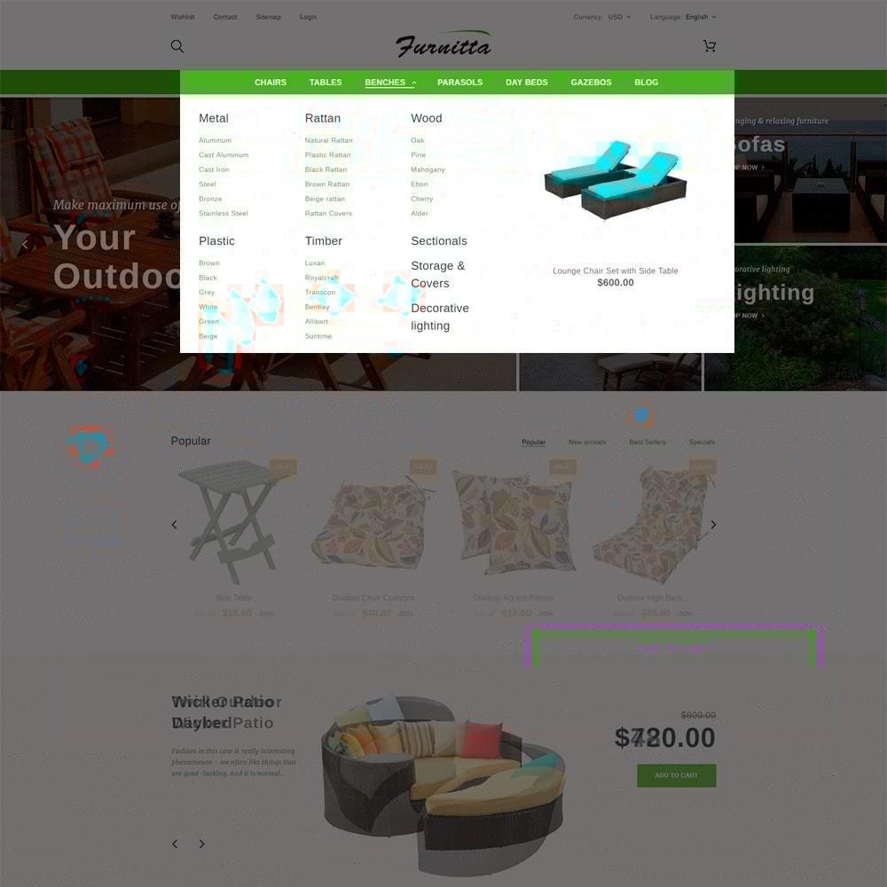 theme - Hogar y Jardín - Tema de PrestaShop para Sitio de Muebles - 4