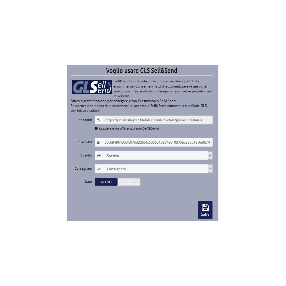 module - Corrieri - GLS Corriere Espresso - Gestisci le tue spedizioni - 2