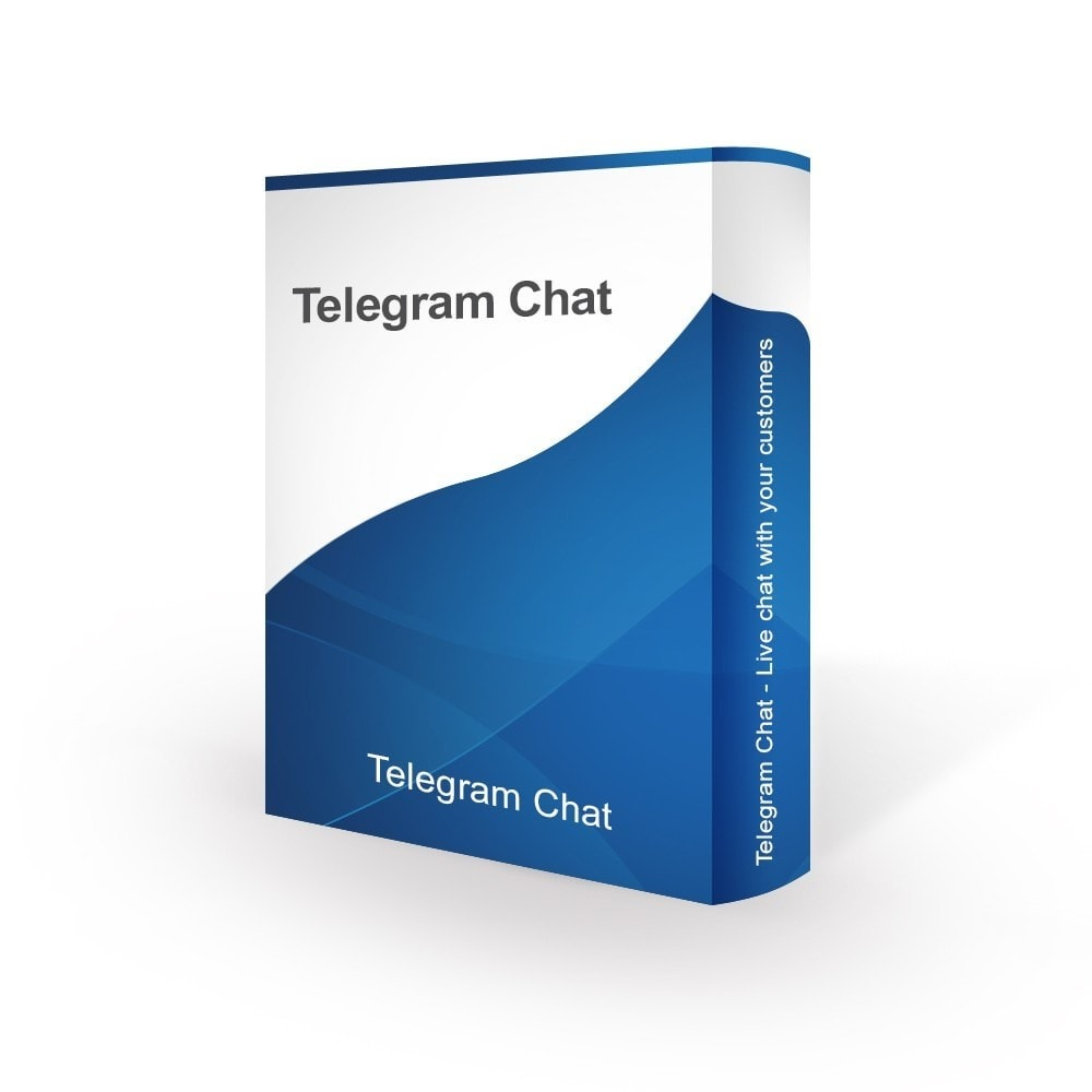 module - Asistencia & Chat online - Telegram Chat - Live chat with your customers - 1