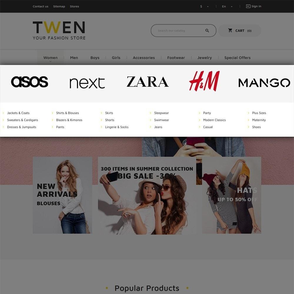 theme - Мода и обувь - Twen - Адаптивный PrestaShop шаблон модной одежды - 6