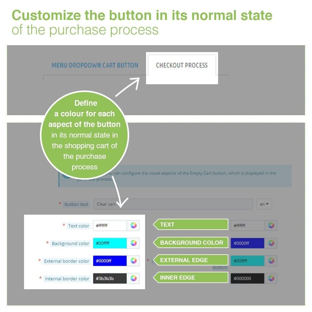 module - Pегистрации и оформления заказа - Empty Cart button – Remove products from the cart - 6