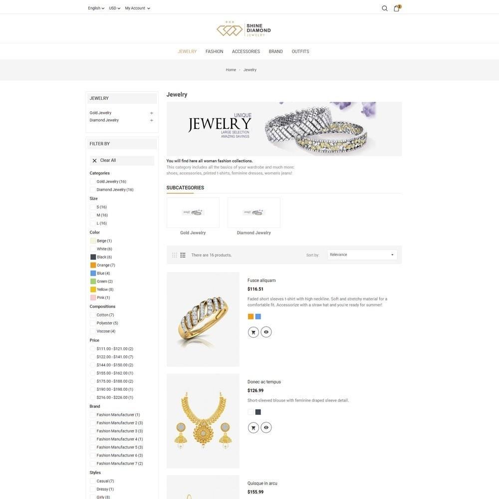 theme - Schmuck & Accesoires - Shine Diamond Jewelry Store - 6