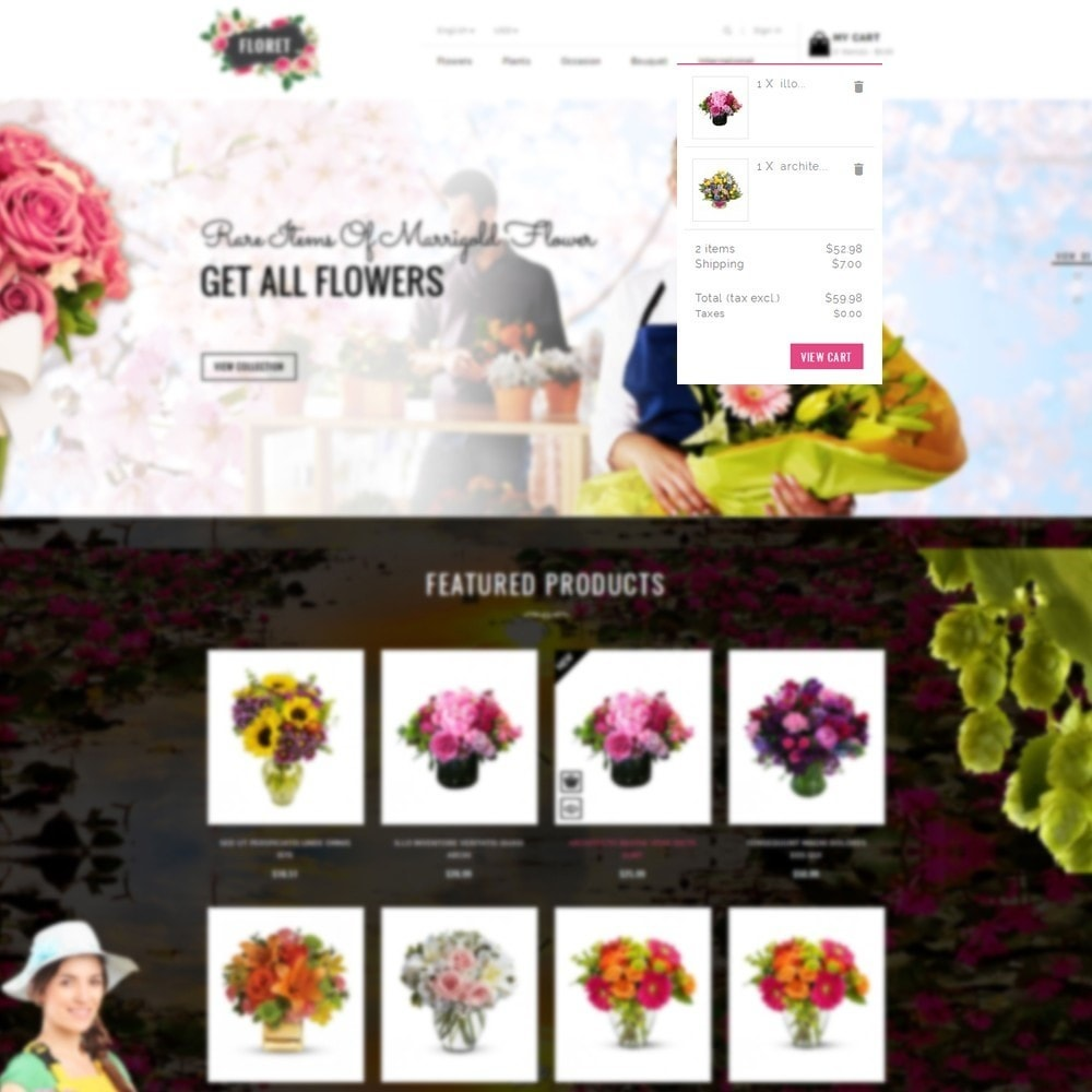 theme - Gifts, Flowers & Celebrations - Floret Flower Store - 6
