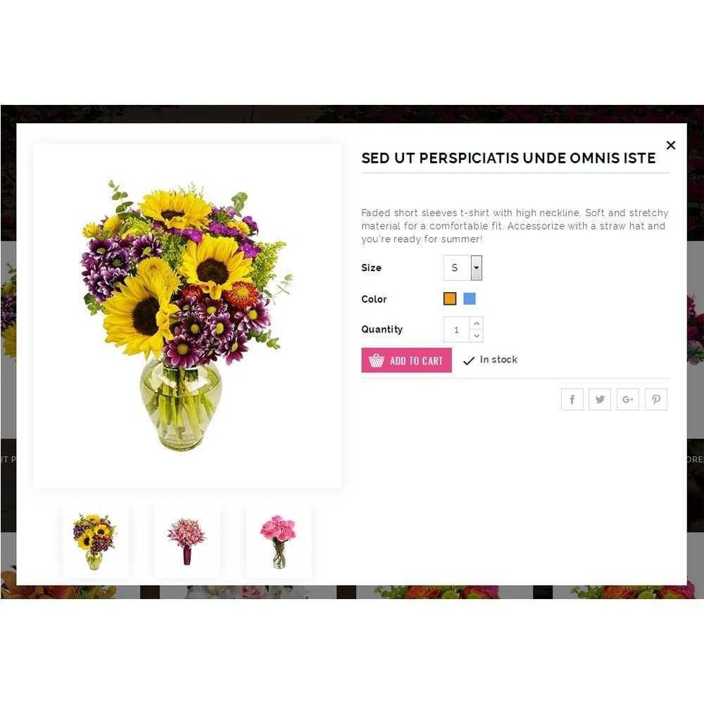 theme - Gifts, Flowers & Celebrations - Floret Flower Store - 7