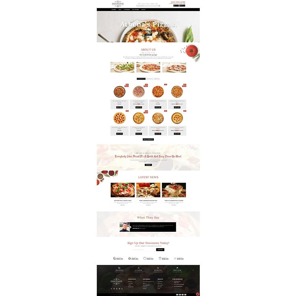 theme - Eten & Restaurant - Pizza Plants Store - 2